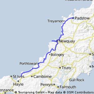 Cornwall bike ride