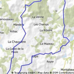 Tour Coussac Meuzac
