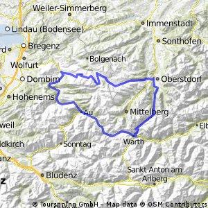 Egg, Oberstorf, Schrofenpass, Warth, Mellau, Egg
