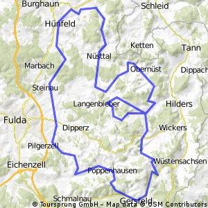 Hügelige Rhönrunde CLONED FROM ROUTE 59752