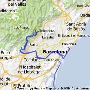 Barceloneta - Sants - Passeig de Aigua