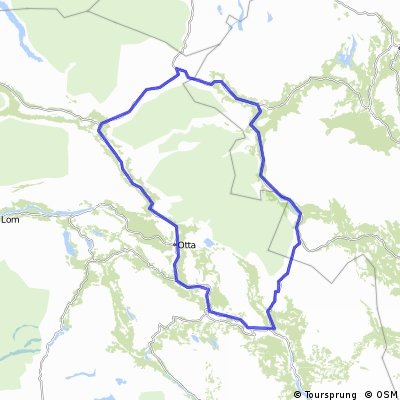 Rondane rundt/Tour de Rondane