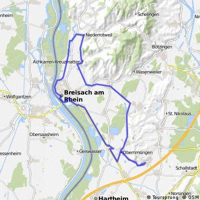 Kaiserstuhl + Breisach