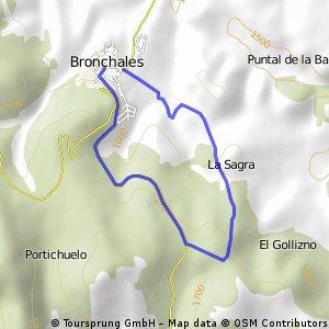 Bronchales 7km