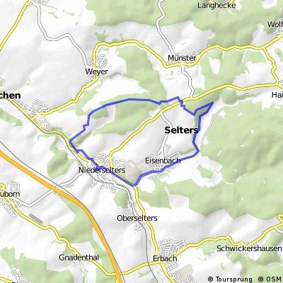 Niederselters - Münster - Eisenbach