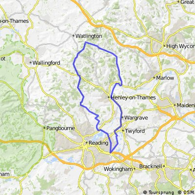 60km road route