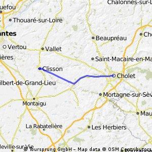 Cholet - Clisson