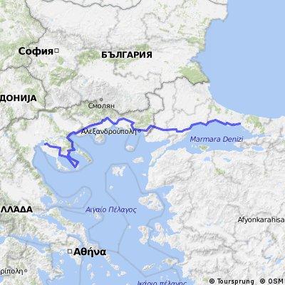 2011 Grecia - Turchia (Salonicco - Istanbul)