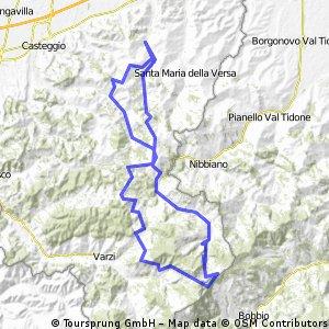Giro 6 aprile - Oltrepo'