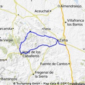 Zafra - Cornicabra (por Jerez)