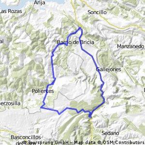 Arenillas-Carrales-La Lora-Rocamundo-Arenillas