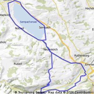 Reussbühl - rund um den Sempachersee