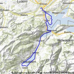 Reussbühl - Rund um den Sarnersee