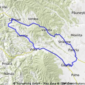 Velopower training route 1