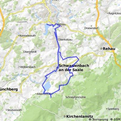 ADFC-Hof: Tour nach Hallerstein