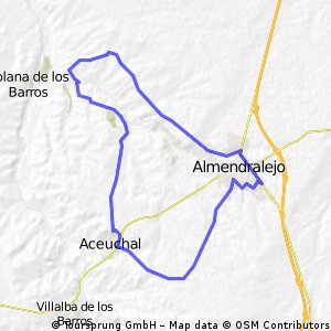 Almendralejo-Solana-Aceuchal-Almendralejo