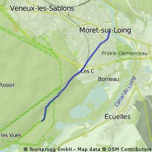 Balade 14 - Vallée du Loing et de Lunain