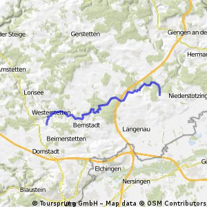 Osterfahrt im Lonetal bis Lindenau