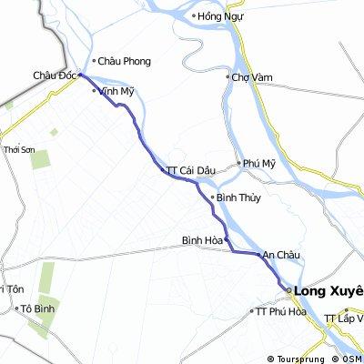 VN 5 Chau Doc to Long Xuyen