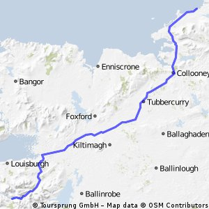 Day 4 - Leenane to Bundoran