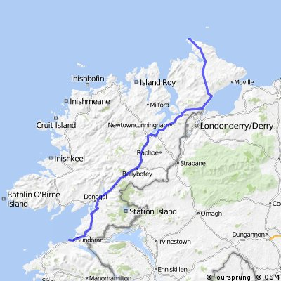 Day 5 - Bundoran to Malin Head