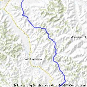 Tappa 1: Empoli - Certaldo, 28 km