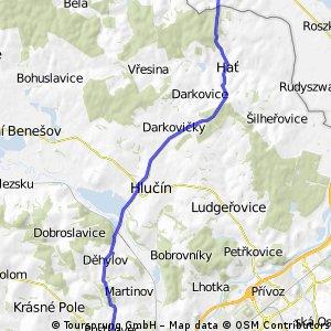 Z Poruby do polské vesničky