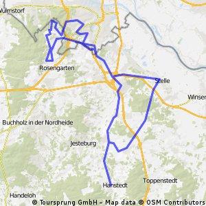 Nordheide - Harburger Berge und zurück