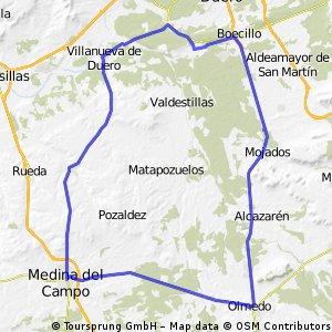 Los Arcos-Medina-Boecillo-Los Arcos