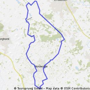 Altenberge -> Ahlintel -> Altenberge