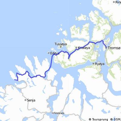 Norge på langs, med Tourettes etappe 6