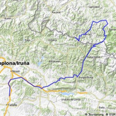 Etapa 12 Barasoain-Pico de Orhy