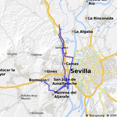 Ferrocarril de Minas de la Cala a San Juan de Aznalfarache (RUTA 1 - Alrededores de San Juan)