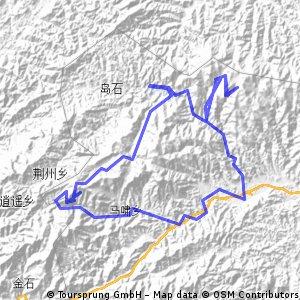 2012年五一太子尖骑游第一天