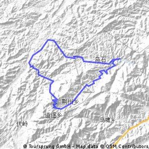 2012五一浙西大峡谷第二天路线