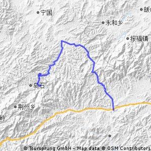 五一2012浙西大峡谷第三天
