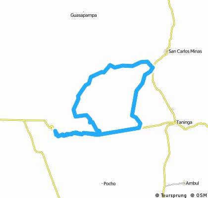 Piedras Anchas - Las Palmas - Los Tuneles y Regreso