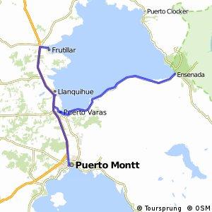 Puerto Montt a Ensenada y después a Frutillar