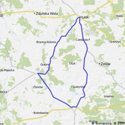 II Supermaraton Jastrzębi Łaskich - Rodzinny 72km