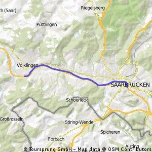 Saarbrücken - Trier