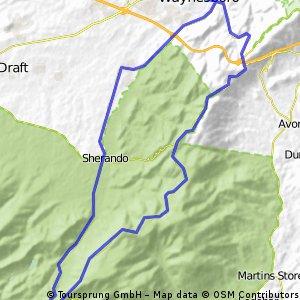 blue ridge loop waynesboro