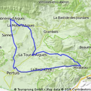 cabrieres 44km