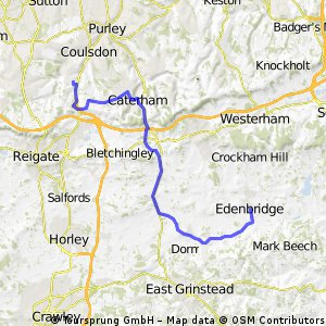 Hooley to Edenbridge
