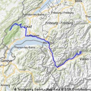 Route Route Tour de Suisse 2009, Stage 8