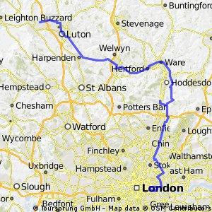 71) London-Cheshunt-Luton