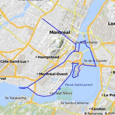 Estacade + Canal de Lachine