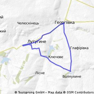 успенка - волнухино - георгиевка