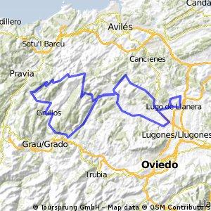 XI Marcha Cicloturista Corazón de Asturias