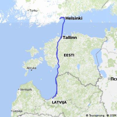 Riga - Helsinki - Riga