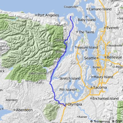 Port Townsend to Olympia